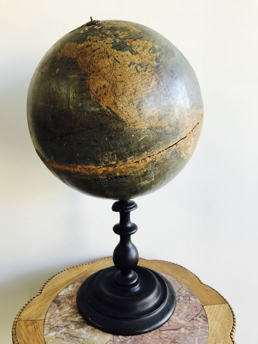 A table Globe This globe was created by Dr. Otto Delitsch