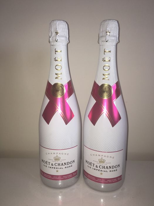 Moet Chandon Ice Rose Demi Sec - 2 bottles (75cl)
