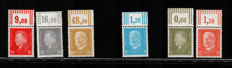 Germany 1928 - Portraits of Hindenburg and Ebert - Michel Spezial 2017 nos. 410/22 + 435/37 + 454 + 465/66
