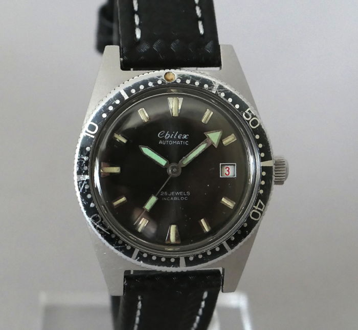 Chilex - Automatic diver's watch - Revised - Homme - 1970-1979