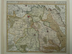 Noord Brabant, Oostt Brabant; Isaak Tirion-New map of the Meiery of 's Hertogenbosch-1755