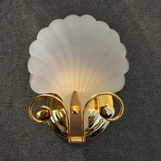 Deknudt - Original Frosted Glass Sconce (lot 1)