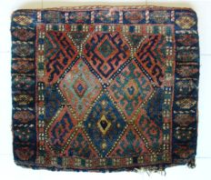 Tribal Jaff Kurdish bag front, NW Persia, 48 x 53 cm