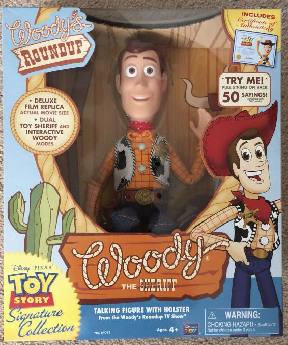 Woody Toy Story Collection Usa New Unique First Edition 35cm