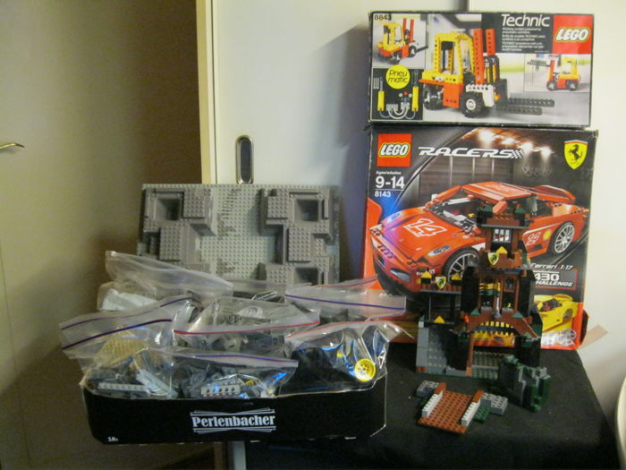 Lot of Lego not complete - various kinds