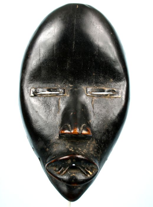 Antique mask of runner - DAN - Cote d'Ivoire