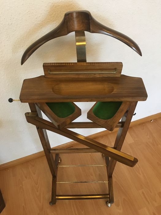 Unknown designer - Valet stand with drawers for jewellery.