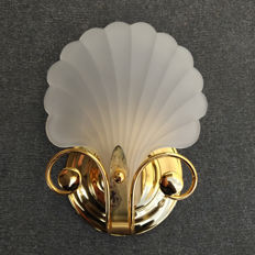 Deknudt - Original Frosted Glass Sconce (lot 2)