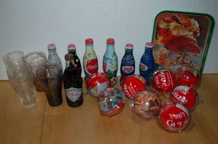 COCA COLA 50 years (1977) new and vintage bottles