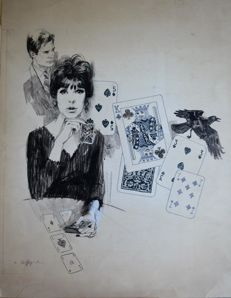 "Biffignandi, Alessandro - Original illustration for ""Grazia"" no. 1395 (1967)"