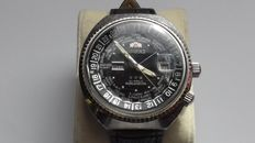 Orient Japan - World Diver AUTOMATIC 21 - All SteeL - Jumbo    - 904545W - Heren - 1970-1979