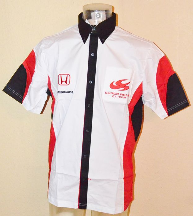 Super Aguri Honda 2008 - team apparel, team and driver shirt (L), in the original packaging