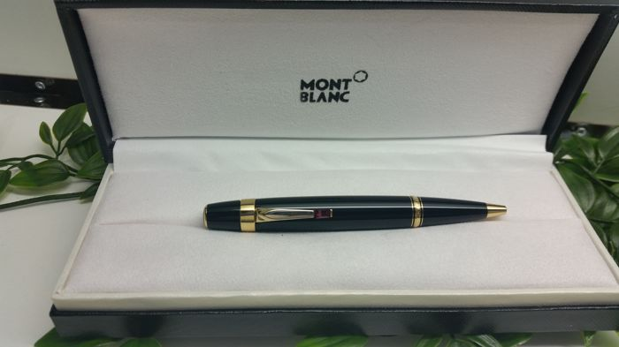Montblanc Meisterstuck Boheme red ruby clip
