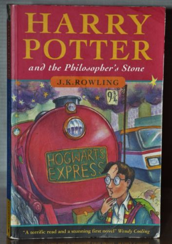 Harry Potter Book Error : Copywright error joanne rowling harry potter and the