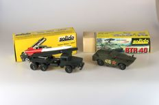 Solido - Scale 1/50 - Camion Lance-Fusee No 201 + BTR 40 Lance Rockets