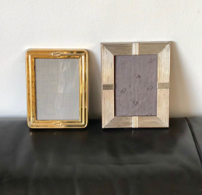 Dior And Christofle 2 Vintage Picture Frames Catawiki