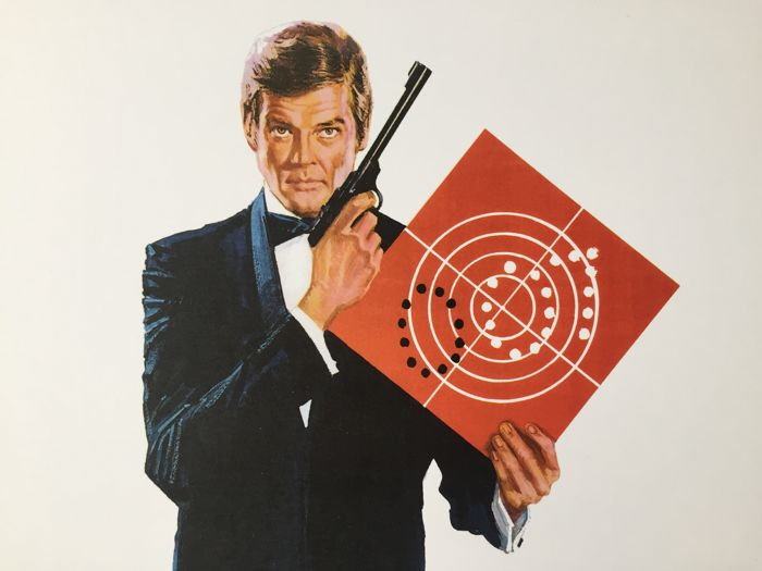James Bond - Roger Moore - Lithografie, Poster Set of 3 - 007 Art Prints by Robert McGinnis