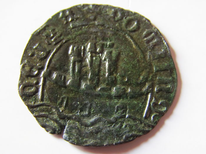 Portugal Monarchy - D. Afonso V ( 1438-1481 ) - Ceitil  -  ⅙ of White Real -