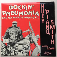 Nice and varied  lot of 25  Rock&Roll - Rockability albums, with rare stuff.