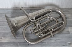 Tuba - C. Mahillon, patented supplier of the army - Belgium - 20th century