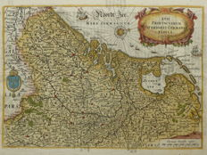 The Netherlands, Belgium, Luxembourg; P.C. Bor - XVII Provinciarum Inferioris Germaniae Tabula - 1621