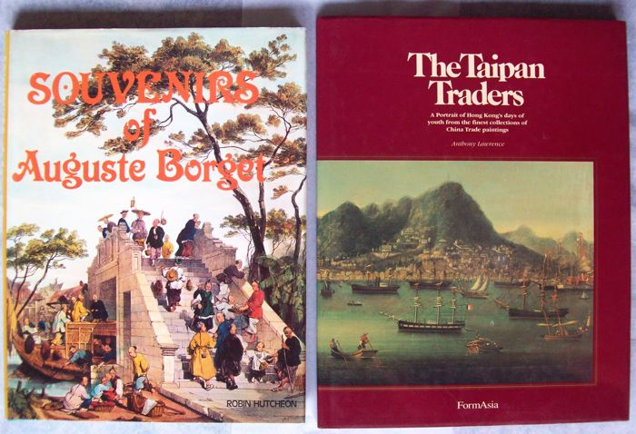 Lot with 3 books on Chinese Trade Paintings and 1 extra - 1979/1989