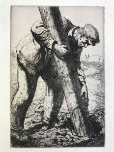 Jean Francois Millet (1814-1875) - The Labourer