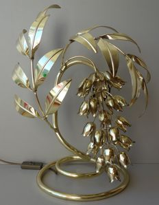 Manufacturer unknown - table lamp in the shape of wisteria