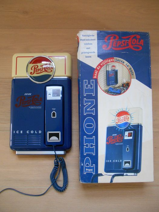Original Pepsi-Cola wall phone serial no: 240926 approved by the ministry of transport