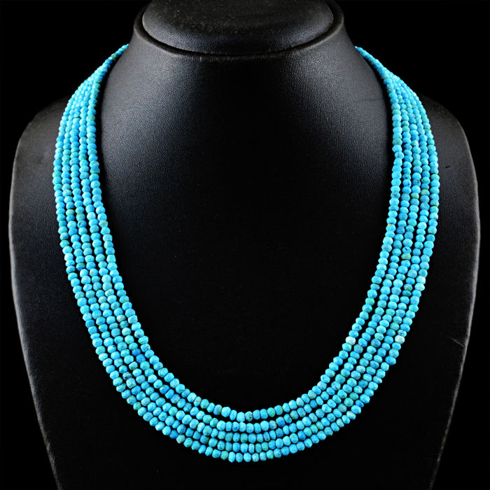 necklace freedom products stones long jewellery turquoise