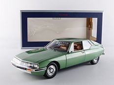 Norev - Scale 1/18 - Citroen SM 1971 - Metallic Green