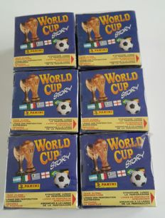 Panini - World Cup Story 1990 - 6 sealed boxes