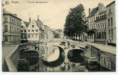BRUGGE/BRUGES: Lot with 65 postcards, including 12 rare ones