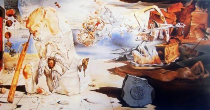 Salvador Dalí (after) - La Apoteosis de Homero