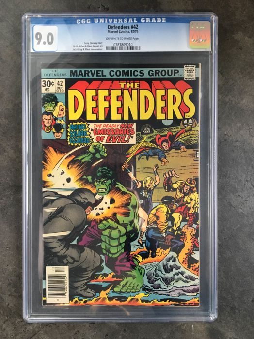 Marvel Comics - The Defenders #42 - CGC 9.0 - (1976)