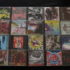 Great lot of 17 original CD's + 3x CD-singles, most produced/and or remixed by famous producer Adrian Sherwood. Most CD's on his own On-U Sound-label!