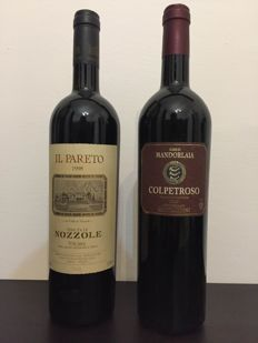 1998 IL PARETO and 2005 COLPETROSO - 2 bottles (75cl)