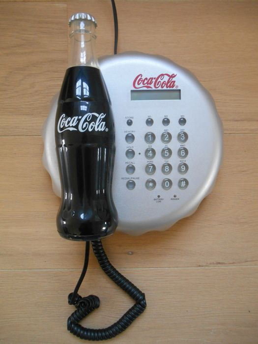 Coca Cola telephone from the 1990s