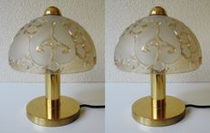 Peill & Putzler - two vintage table lamps.