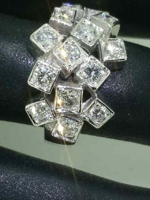 reduire taille bague or blanc