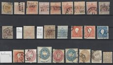 Lombardy & Venice Austria Italy 1850 - Lot from the first issue
