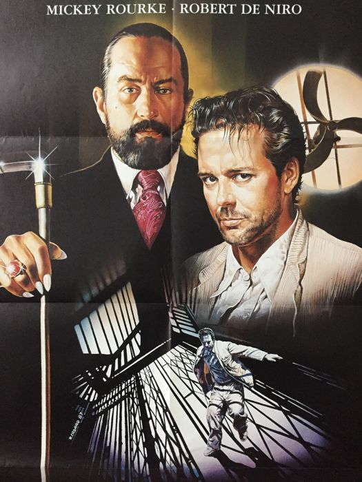 Renato Casaro - Angel Heart / The Deer Hunter (Robert De Niro) -  1978/ 1987