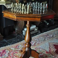 Complete Chess Set + Game Table