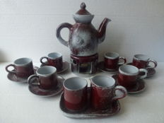 Studio pottery TERRA - Tea/coffee set