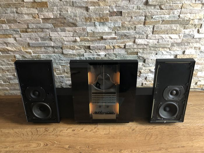 Bang & Olufsen - Beosystem 2500 with beolab 2500 and beolink 1000 - Installation HI-FI