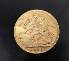 Australia - Sovereign 1897 M (Melbourne) - Victoria - gold