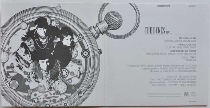 CD box set: XTC As The Dukes Of Stratosphear ‎– The Complete And Utter Dukes