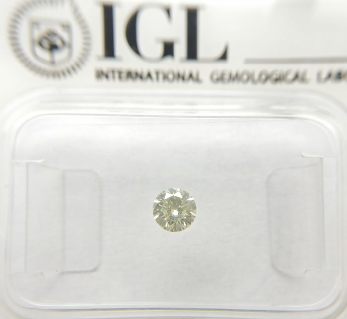 0.20 ct Round cut diamond K VVS1 *** No Reserve ***
