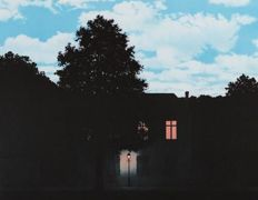 Rene Magritte - L'Empire des Lumières (The Empire of Light)