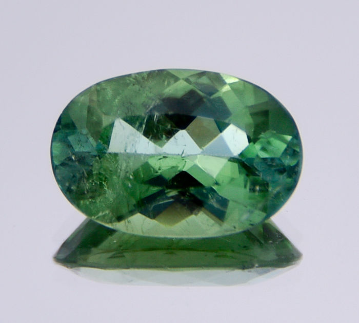 Green tourmaline (Verdelite) - 3.19 ct - 'No reserve price'